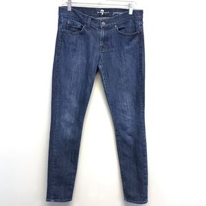 7FAMK   Skinny Gwenevere Medium Wash Jeans